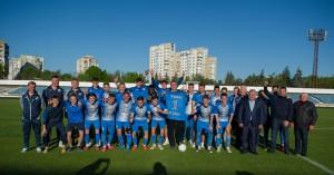 Мэр Бельц вручил ФК 'Бэлць' премию в 10 000 долларов за успешный сезон