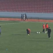 Olimp se pregătește pentru a doua parte a campionatului la noul stadion din Comrat (video)