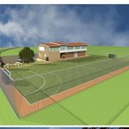 În Selemet se elaborează proiectul construcției unei baze sportive multifuncționale
