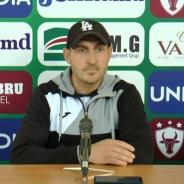 """Veaceslav Sofroni: """"În a doua parte a campionatului ne dorim să concurăm de la egal la egal cu echipele din vîrful clasamentului"""""""
