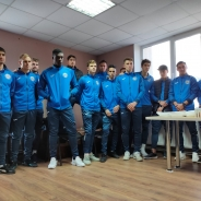"""ФК """"Бэлць"""" отметили успешное завершение года. Зимой команду ждет сбор в Турции (видео)"""